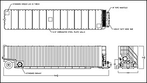 Frac Tank Corrugated Wall Liquid Storage Tanks Frac N Vac