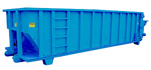 Open Top Solid Waste Container Frac N Vac